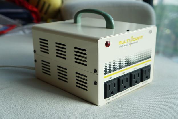 3..変圧器1000W(12月終わり~1月始め引き渡し)