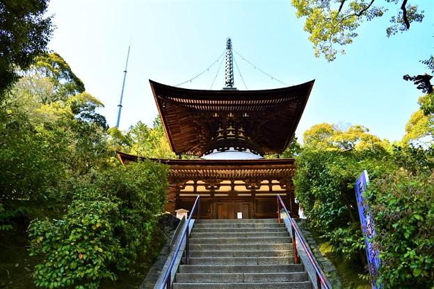 国内最古の多宝塔