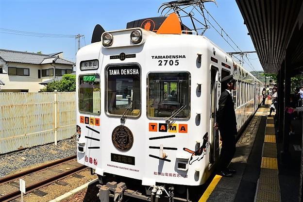 猫の駅長で知られる 和歌山電鐵貴志川線