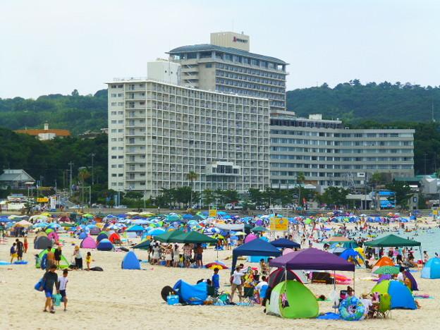 海と遊べるまち白浜 またね!