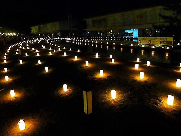 なら燈花会 奈良国立博物館会場