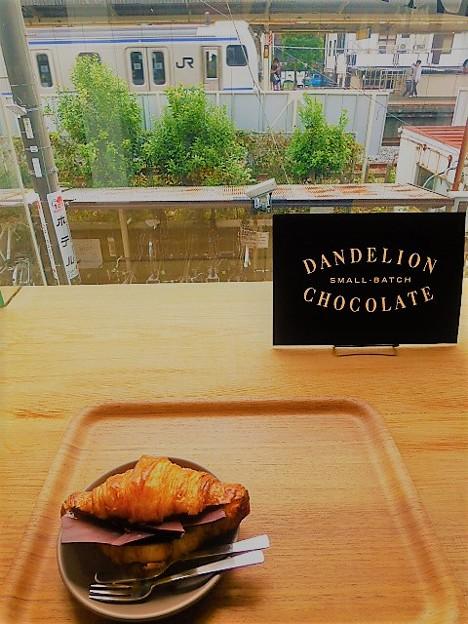 モーニング限定 チョコレート・クロワッサン