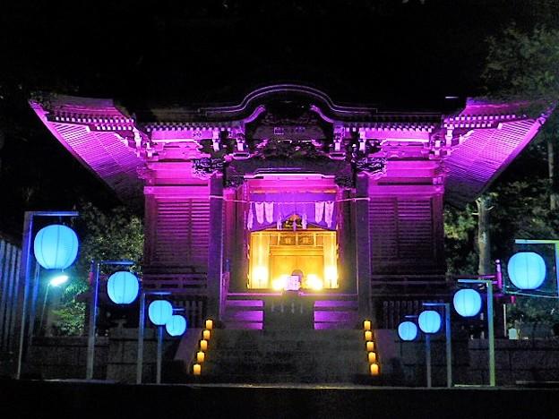 長谷の灯かり 御霊神社(権五郎神社)