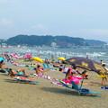 写真: 由比ヶ浜海水浴場