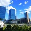 写真: グランフロント大阪と大阪駅