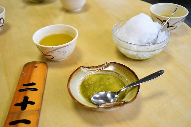 堺の銘菓 くるみ餅と氷くるみ餅