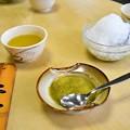 写真: 堺の銘菓 くるみ餅と氷くるみ餅