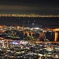 鉢巻展望台の夜景