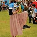 写真: 稲村 亜美と対決