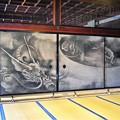 海北友松によって描かれ襖絵 雲龍図