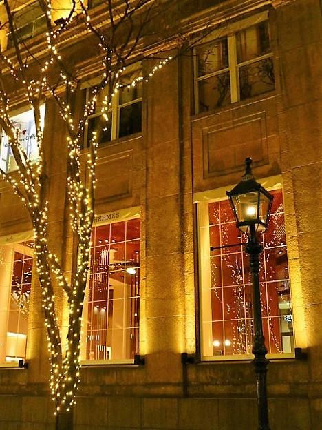 神戸のガス燈・旧居留地クリスマスイルミネーション