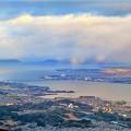 夕方の琵琶湖