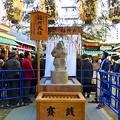 Photos: 被災鳥居から蘇った福興戎像