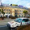 Photos: タイガース色満載のタクシー タイガースキャブ