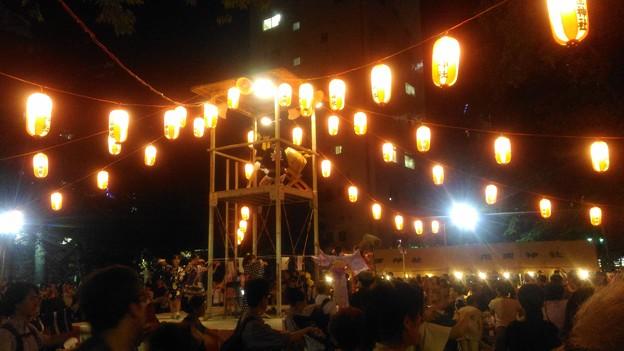 花園神社盆踊り