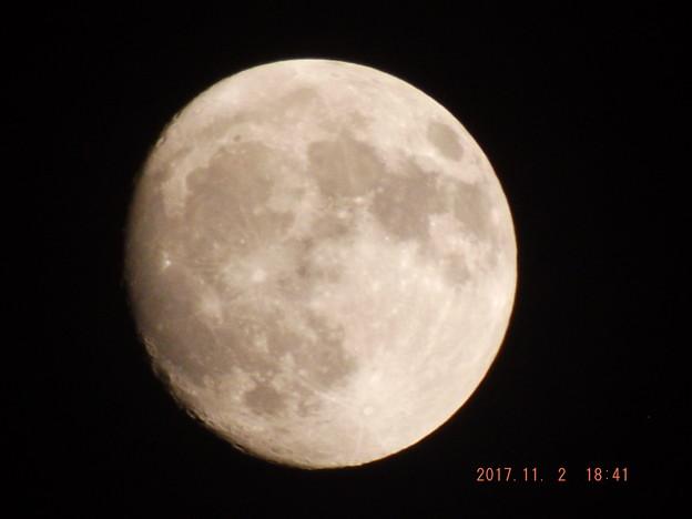2017/11/02(木)のお月様