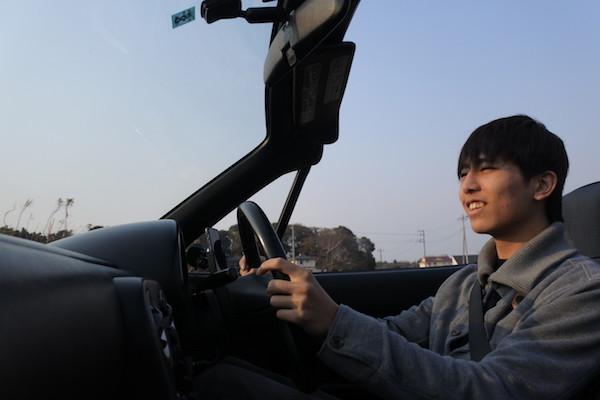 「息子の運転するユーノスロードスターに乗る」という初めての体験