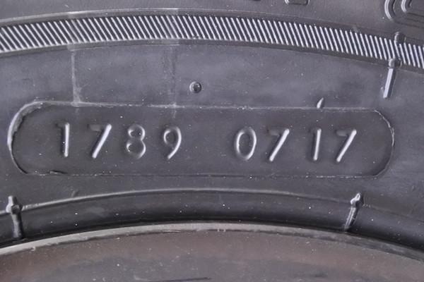 いずれも「1789 0717」の刻印で、2017年の7週目製造?
