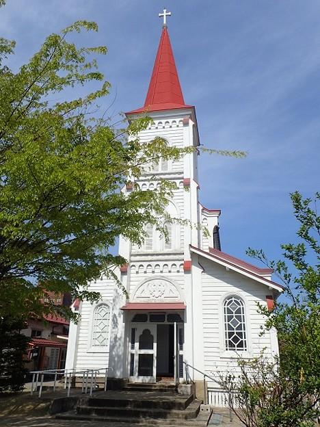 写真: 29 GW 山形 鶴岡カトリック教会 1