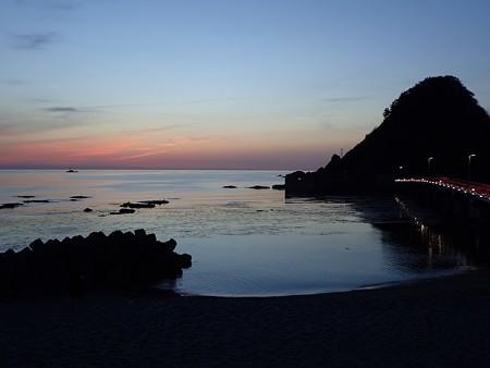 29 GW 山形 由良海岸の夕焼け 2