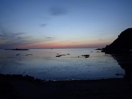 29 GW 山形 由良海岸の夕焼け 3
