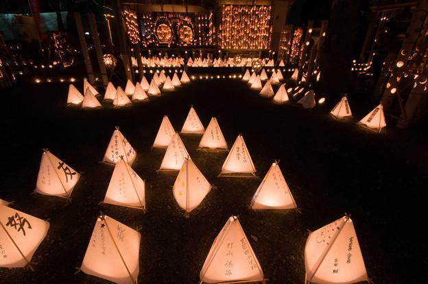 宮若清水寺のライトアップ♪