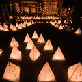 Photos: 宮若清水寺のライトアップ♪