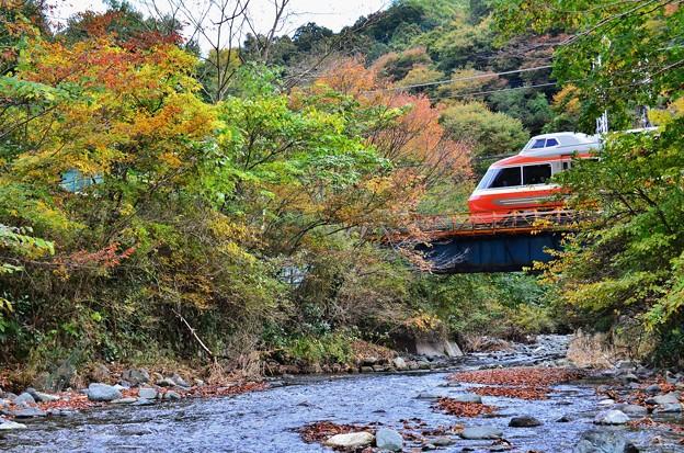 写真: 小さな鉄橋