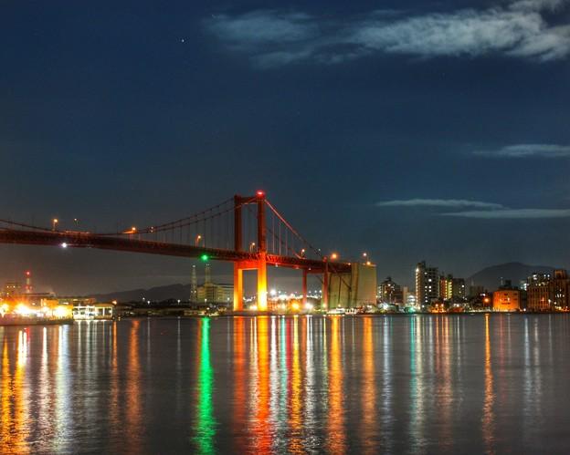 写真: 若戸大橋