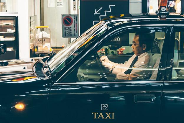 写真: 計程車