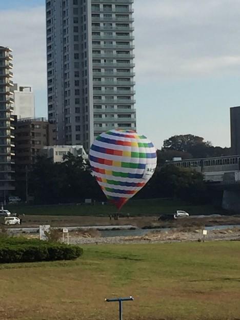 写真: 気球