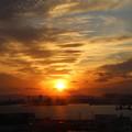 神戸の夕陽