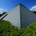 写真: 池の川処理場 屋上公園のピラミッド