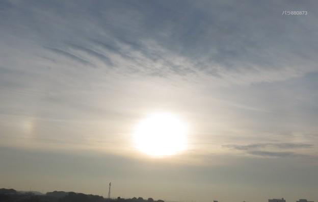 日暈(ハロ)と幻日