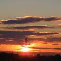 写真: 日は昇り