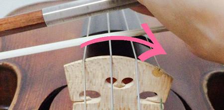 E線が裏返らない方法1 東京・中野・練馬・江古田、ヴァイオリン・ヴィオラ・音楽教室