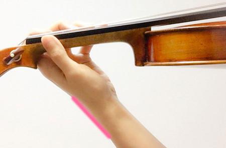 左手の形1 東京・中野・練馬・江古田、ヴァイオリン・ヴィオラ・音楽教室