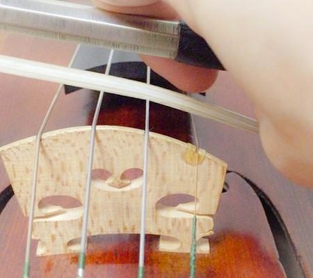 連続する3つの重音の弾き方2 東京・中野・練馬・江古田、ヴァイオリン・ヴィオラ・音楽教室