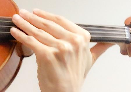 左手の指の形7 東京・中野・練馬・江古田、ヴァイオリン・ヴィオラ・音楽教室