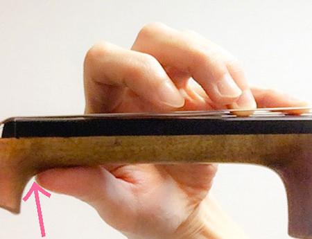 左手の親指の動き4 東京・中野・練馬・江古田、ヴァイオリン・ヴィオラ・音楽教室
