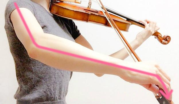 弓に圧力をかける3 東京・中野・練馬・江古田、ヴァイオリン・ヴィオラ・音楽教室