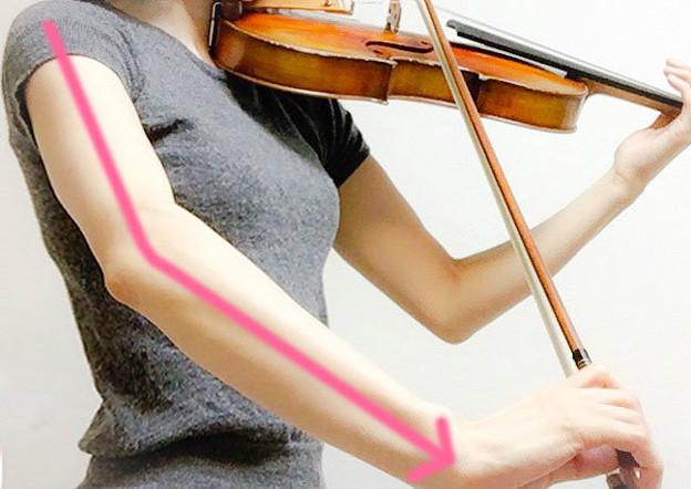 弓に圧力をかける4 東京・中野・練馬・江古田、ヴァイオリン・ヴィオラ・音楽教室