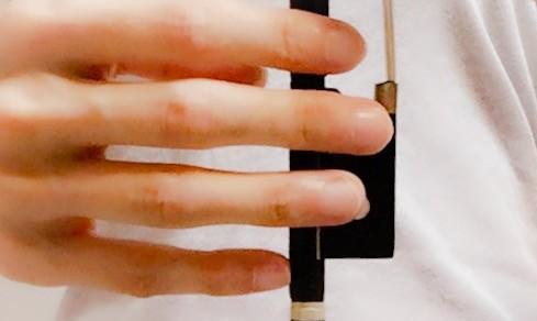 弓の上で小指を丸く3 東京・中野・練馬・江古田、ヴァイオリン・ヴィオラ・音楽教室