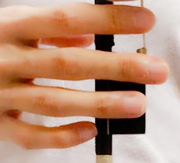 弓の上で小指を丸く4 東京・中野・練馬・江古田、ヴァイオリン・ヴィオラ・音楽教室