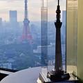 写真: 二つの塔