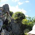 岩登りに挑戦