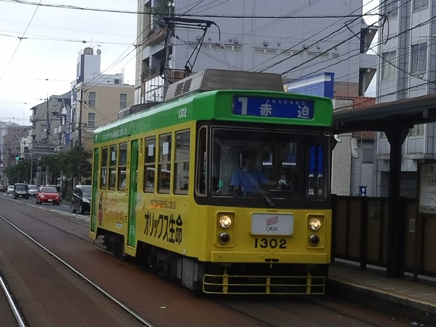 【12140号】路面電車 平成290625 #NTS2