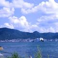 写真: 関門海峡を航行する客船(彦島)1