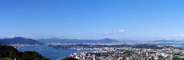 写真: 関門海峡パノラマ