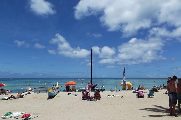 写真: ハワイ・ワイキキ0621
